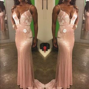 Couture Sherri Hill Evening Gown
